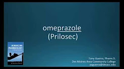 How to pronounce omeprazole (Prilosec) (Memorizing Pharmacology Flashcard)