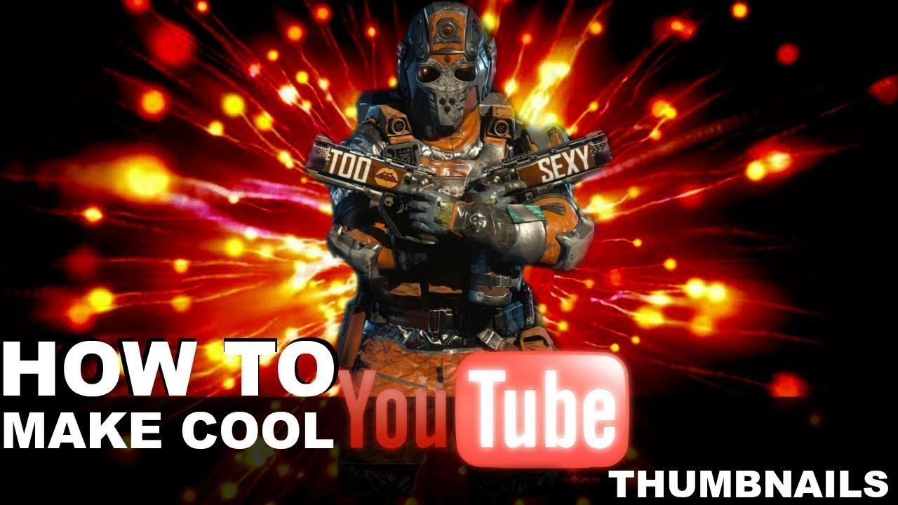 how to create custom thumbnails on youtube