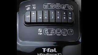 Licuadora T-Fal Infinyforce 10 - No enciende y desarme