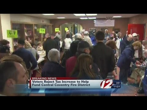 Voters reject tax increase to help fund Central Covernty Fire District