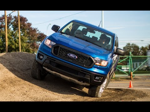 2019 Ford Ranger Off-road, Exterior and Interior