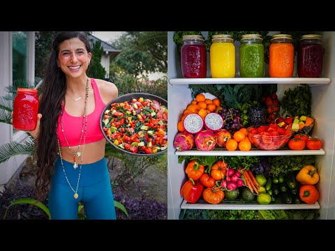 WHAT I ATE TODAY + Nama Juicer Giveaway | Easy Raw Vegan Recipes