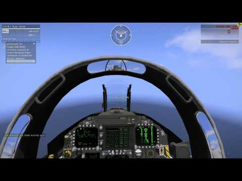 how to change comms on default f18 fsx