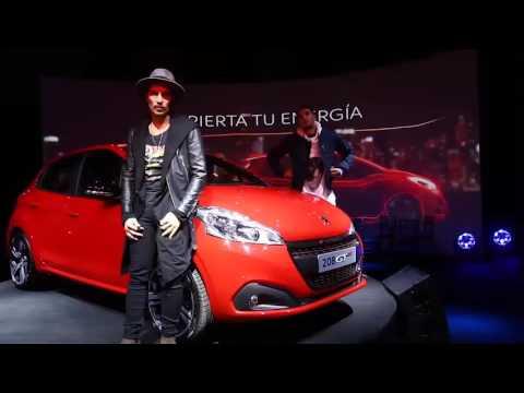 Evento lanzamiento Peugeot 208 con show de Illya Kuryaki & The Valderramas