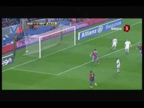 FC Barcelona - All Goals Scored In La Liga  2008/2009 Second Part Of The Season (46 Goals)