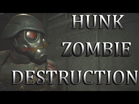 Repeat Resident Evil 2 Lady Hunk Meets Fat Hunk Mod Cutscene