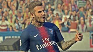 PES 2019   David Beckham - Free Kick compilation   PS4 PRO