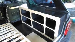 Convert a Fiat Uno to an Amazing camper in minutes.