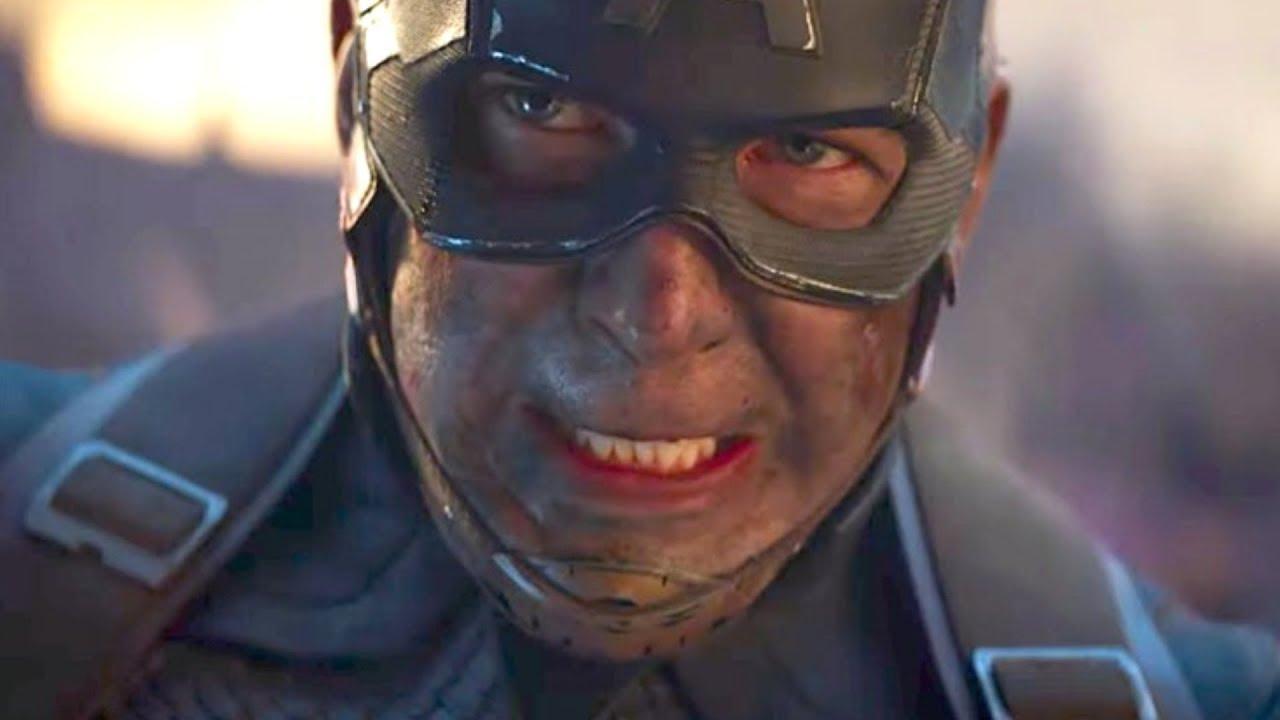 The Weird Explanation On How Thanos' Blade Broke Cap's Shield