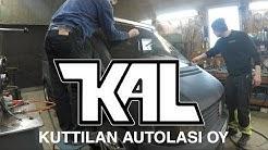 Läpimätä Työmaa-Vito: Tuulilasin vaihto Kuttilan Autolasilla
