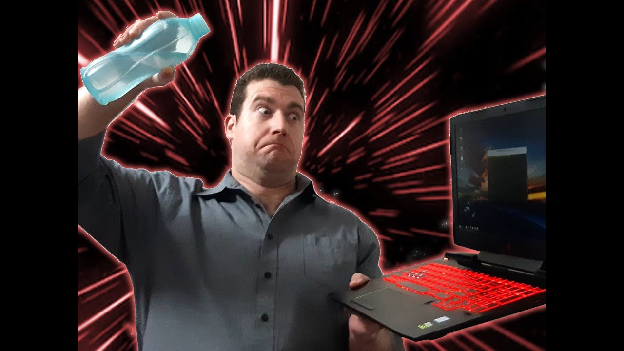 Water cooling a laptop for under $60 - HP Omen laptop