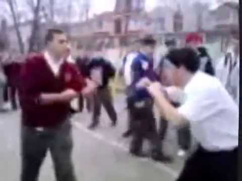 Street Fights Video - Two College Kids
