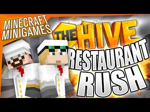 Minecraft Minigames - Restaurant Rush (HiveMC)