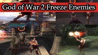 God of War 2 Freeze Enemies Hacked (Part 2)