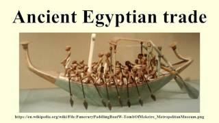 Trade and Transport - Year 7 History: Ancient Egypt - LibGuides at ...