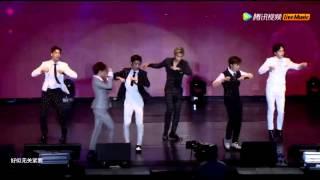[中字live]150629 BOYFRIEND(보이프렌드) -  Don't touch my girl (내 여자 손대지마) 2015上海演唱会