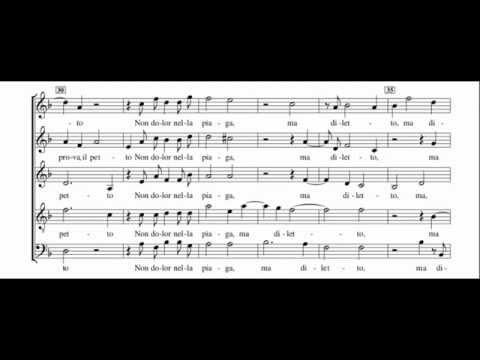 Gesualdo - Book 4/01 Luci Serene e Chiare - Score