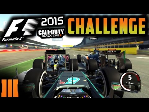 F1 2015 Game Challenge! - Black Ops 3 Death Time Penalties!!! |