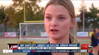The Liberty senior is bouncing back from injury in the biggest way.