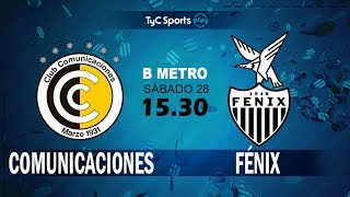 CSD Comunicaciones vs CA Fenix full match