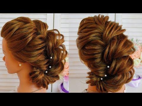 Свадебная Bечерняя Прическа 💚 Текстурная Прическа 💚 Amazing Hairstyle 💚Hairstyles 💚 Texture