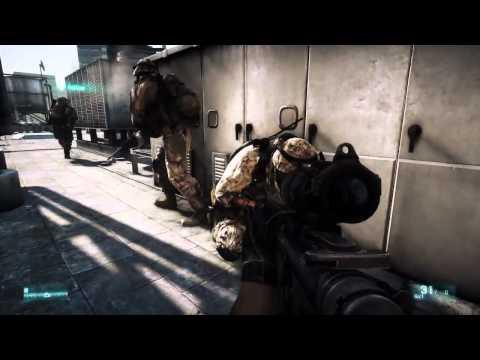 Battlefield 3 геймплей одиночной компании (Gameplay Trailer).