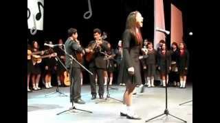 Ebechi auditorio Emiliana de Zubeldía 2013 Gracias Mamá (sweet child of mine performance)