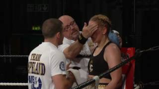 STACEY COPELAND v ESTER KONECNA Black Flash Promotions BBTV 29 - 7- 2017