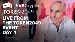 Live From The TOKEN2049 Event - SVK Crypto Day 4 in Hong Kong