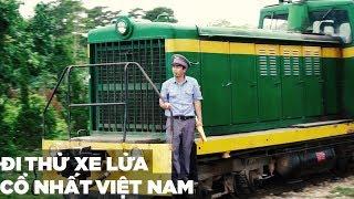 Trải nghiệm chuyến ga xe lửa cổ nhất Đà Lạt Trại Mát
