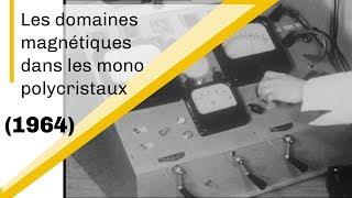 Les domaines magnétiques dans les mono et polycristaux | Archive CNRS