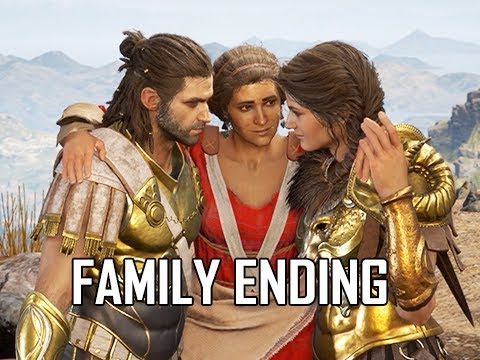 ASSASSIN'S CREED ODYSSEY Walkthrough Part 83 - HAPPY FAMILY ENDING (Let's Play Commentary)