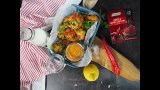 Co na obiad: Stripsy z kurczaka w sosie bufalo
