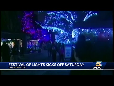 Cincinnati Zoo's Festival of Lights begins Saturday