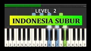 piano tutorial indonesia subur - lagu wajib nasional