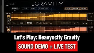 Heavyocity Gravity - Let's Play | Demo | Review
