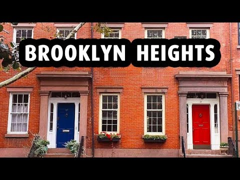 Brooklyn Heights: The Most Charming Neighborhood in New York City
