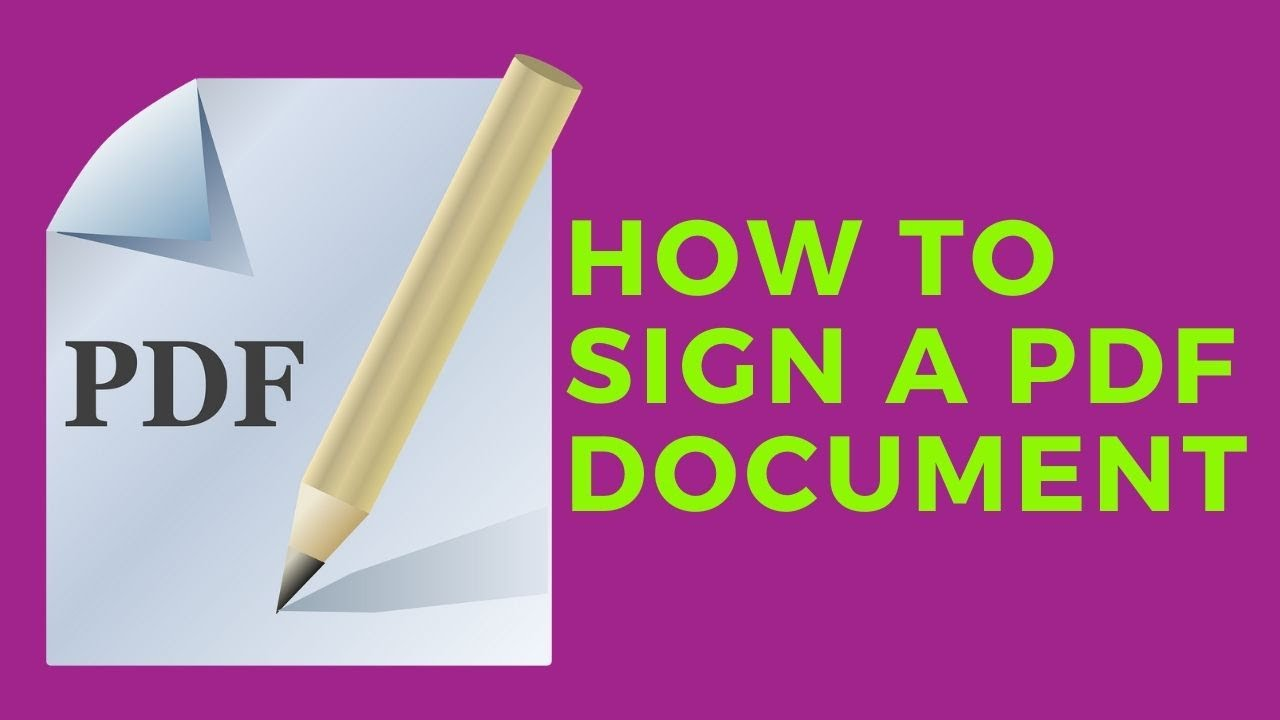 How To Edit And Sign A Pdf Form Or Agreement