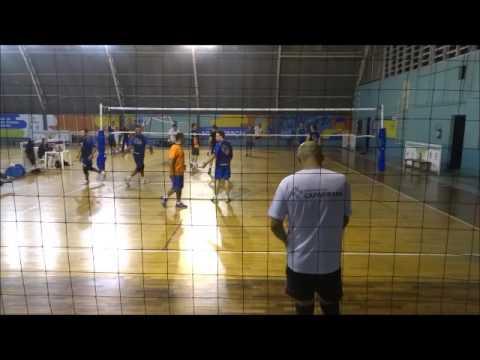 Amistoso Cia Voleibol Master x Nikkei terceiro set