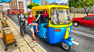 Modern Tuk Tuk Auto Rickshaw: Free Driving Games   Android GamePlay screenshot 5