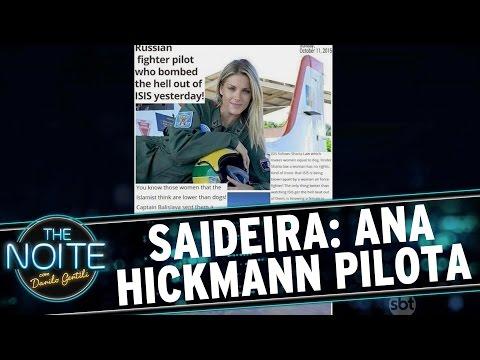 The Noite (15/09/15) - Saideira da Noite: Ana Hick