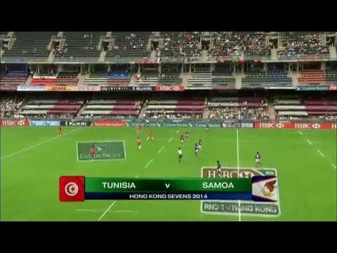 2014 Hong Kong 7s Qualifier Tunisia vs American Samoa By Garali Med