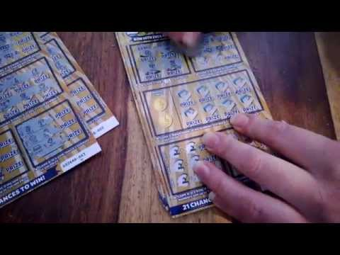 FULL PACK; £4 Million gold SCRATCH CARDS/results