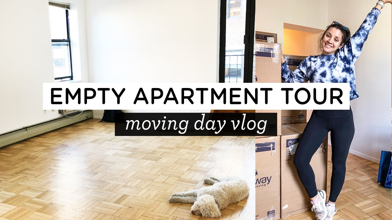EMPTY NYC APARTMENT TOUR NYC Moving Vlog