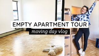 EMPTY NYC APARTMENT TOUR ‣‣ NYC Moving Vlog