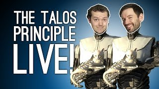 The Talos Principle on Xbox One Live! Talos Principle Gameplay Live from Loading Bar