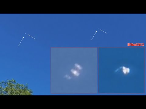 2 UFOs Flying over Vancouver, CA at Quilchena Park (2020-05-19)