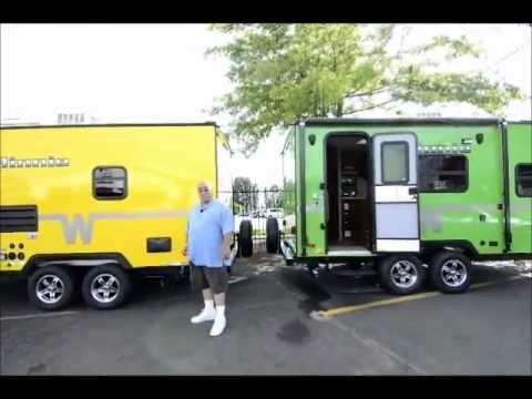 Minnie Winnie Travel Trailer >> The RV Corral 2013 Winnebago Minnie Winnie 1801FB - YouTube