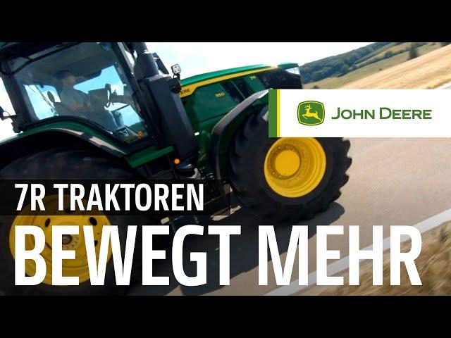 John Deere - Neue 7R Traktoren