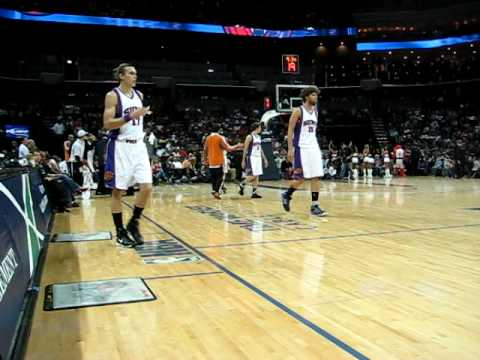 Arena atmosphere Bobcats at Time Warner.